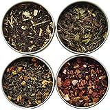 Heavenly Tea Leaves Iced Tea Sampler, 4 Bestselling Cans
