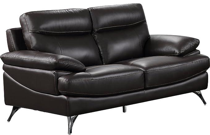 Amazon.com: Mejor Calidad Muebles s6136 tapizado Loveseat ...