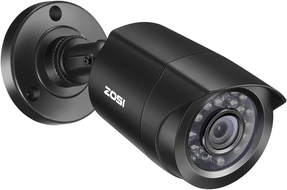 ZOSI 2.0 Megapixel HD 1080P 4 in 1 TVI/CVI/AHD/CVBS Security Cameras Day Night Waterproof Camera 65ft IR Distance,Compatible for HD-TVI, AHD, CVI, and CVBS/960H analog DVR