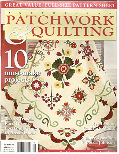 Download Australian Patchwork Quilting Volume 20 # 10 ebook