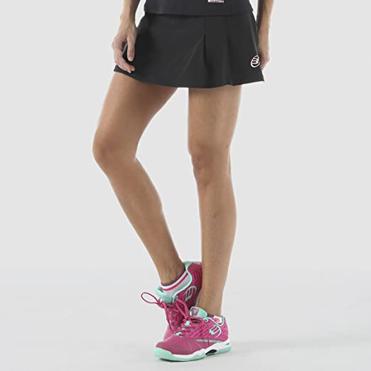 FALDA SHORT BULLPADEL AMONRA NEGRO: Amazon.es: Deportes y aire libre