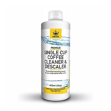 Pure PERK máquina de café limpiador desincrustante solución para todas las marcas, incluida Keurig Cuisinart etc.: Amazon.es: Hogar