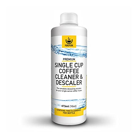 Pure Perk Coffee Machine Cleaner Descaling Solution