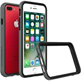 iPhone 7 Plus Case - RhinoShield [CrashGuard] Bumper [11 Ft Drop Tested] No Bulk [ShockProof Technology] Thin Lightweight Protection - Slim Rugged Cover - [Dark Gray]