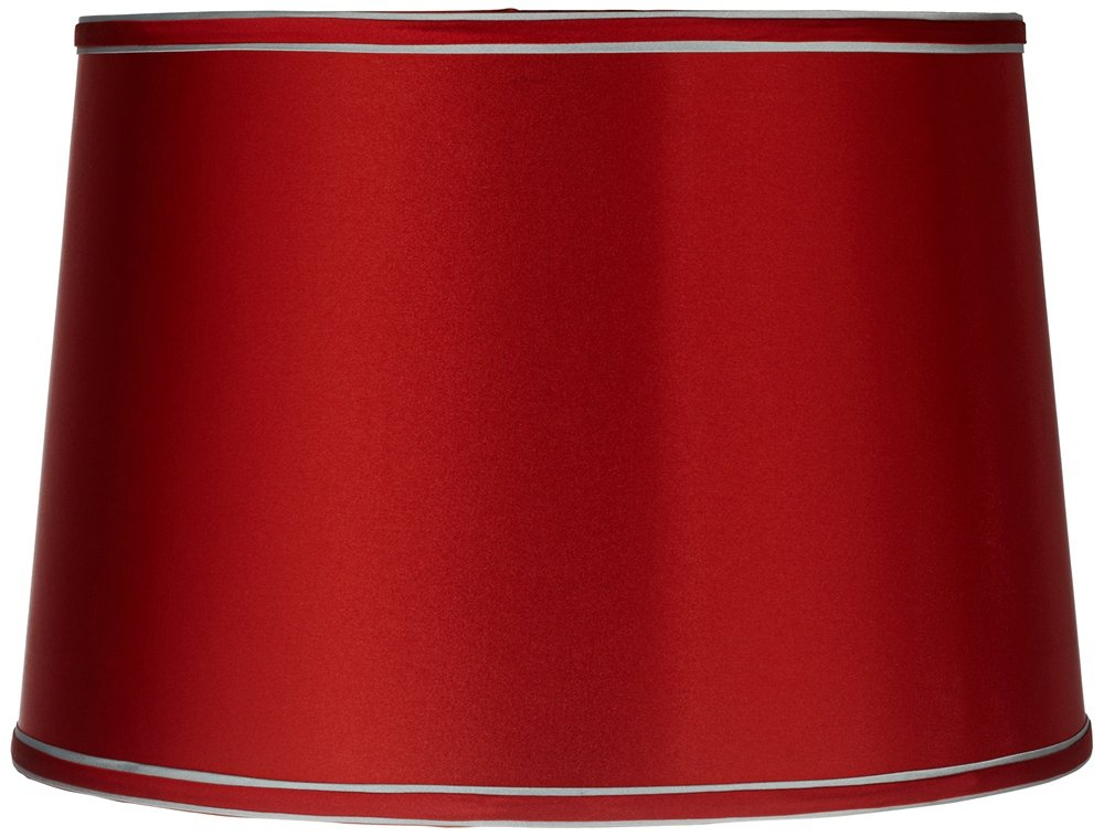 Sydnee satin red drum lamp shade 14x16x11 spider lampshades sydnee satin red drum lamp shade 14x16x11 spider lampshades amazon aloadofball Image collections