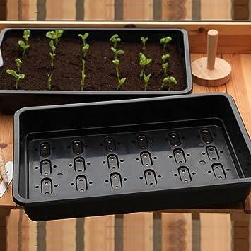 Paquete de 10 bandejas de semillas Britten & James® Professional. Bandejas pesadas de tamaño