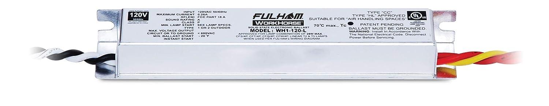 amazon com: fulham lighting fulham workhorse adaptable ballast, wh1-120-l:  home improvement
