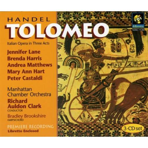 Handel Tolomeo Hwv Various artists