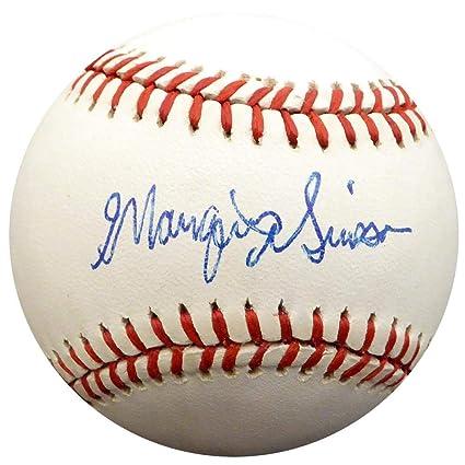 4ca41fd5d33 Marquis Grissom Signed Baseball - Official NL Montreal Expos Beckett BAS   F26781 - Beckett Authentication