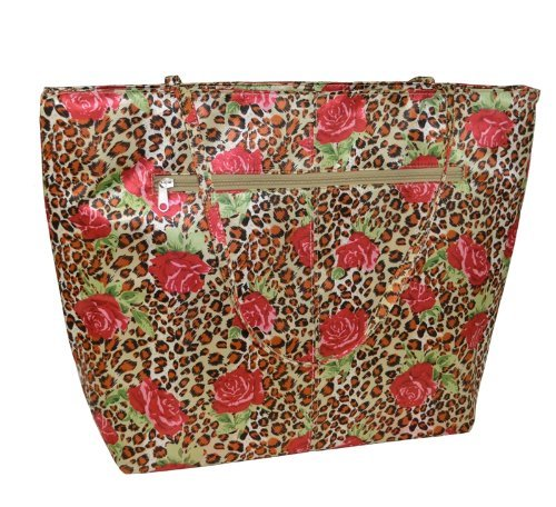 3043 Rose (Picnic Gift Bella Insulated Tote - Red Rose)