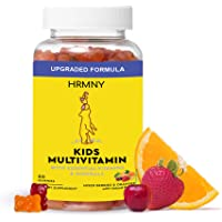 Daily Kids Gummy Multivitamins, 30 Day Supply: Vitamin D3, C and Zinc for Immunity, B12 Methylcobalamin for Energy…