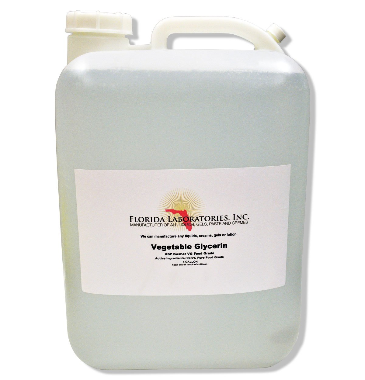 Five Gallon Vegetable Glycerin Food Grade USP