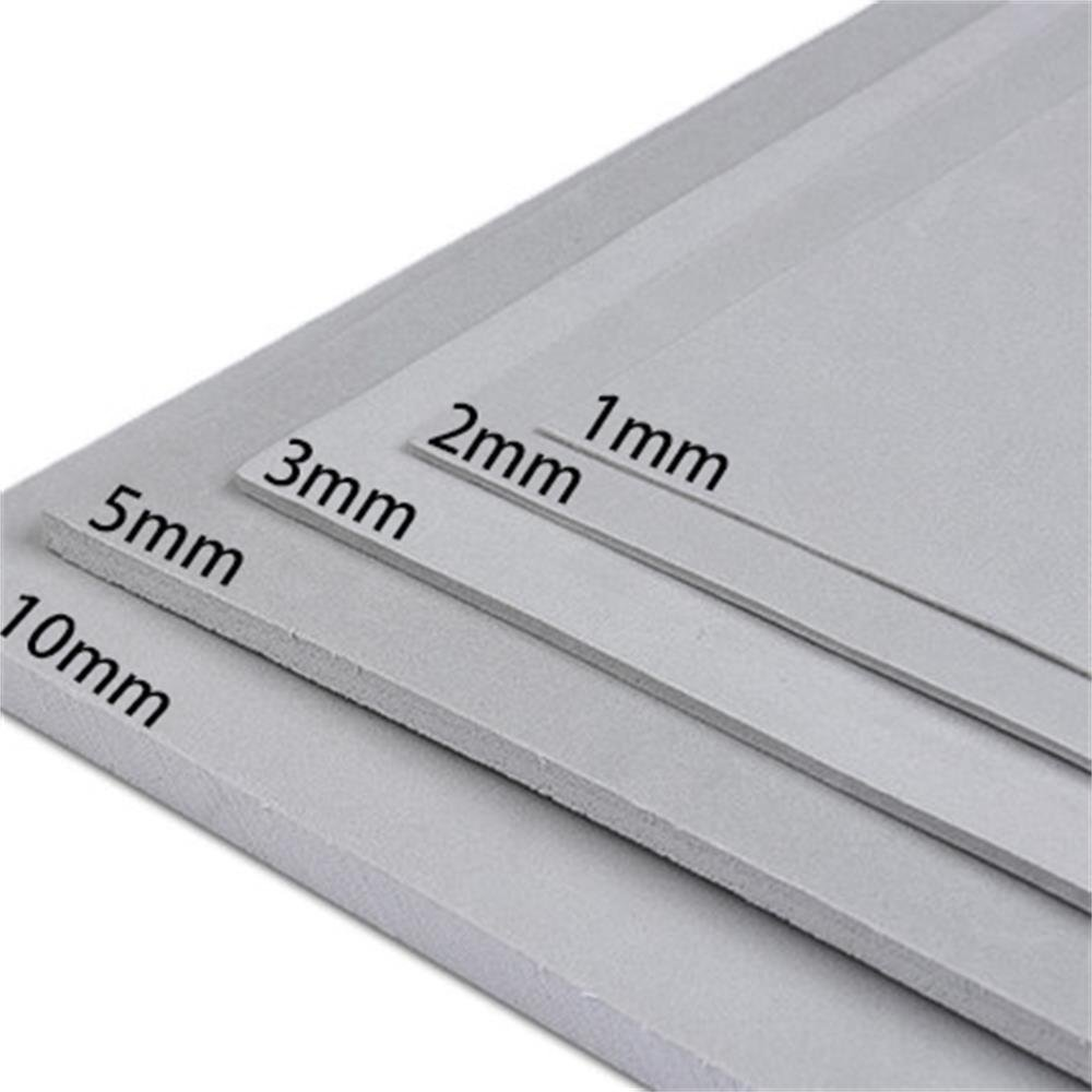 EVA Foam Sheets for Kids Craft Cosplay Model 13''×39'' Thickness 1-10mm Grey