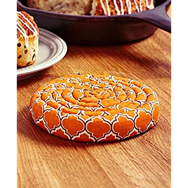 The Lakeside Collection Harvest Pumpkin Scented Hot Pad