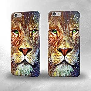 Lion- Funda Carcasa para Apple iPhone 6
