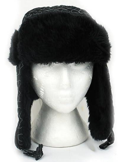 Signora cappello TRAPPER con fantasia