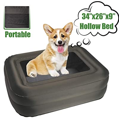 EXPAWLORER Outdoor Elevated Dog Bed