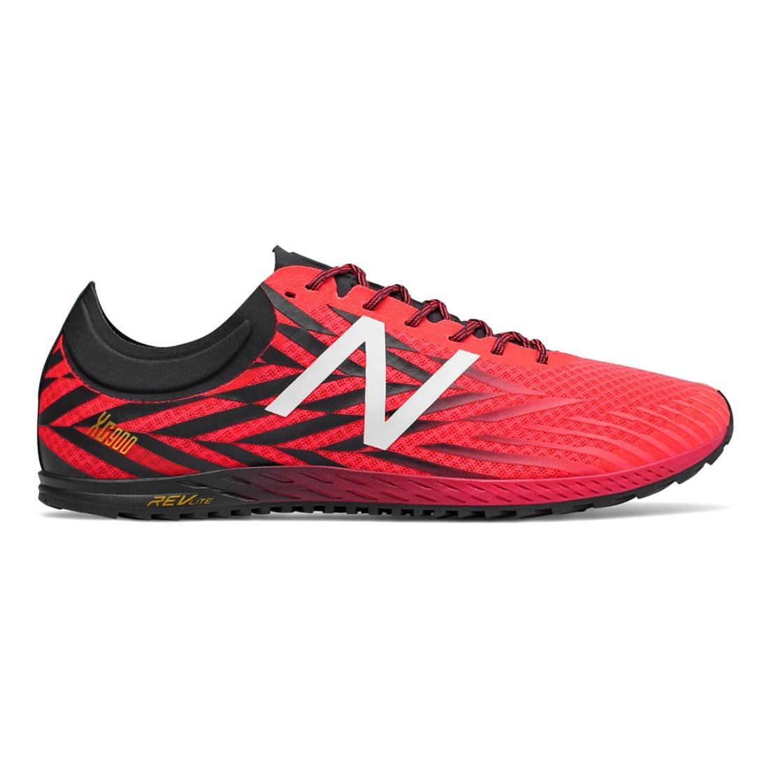 New Balance Men's 9004 Cross Country Running Shoe B075R78H6F 12 D(M) US|Bright Cherry/Black