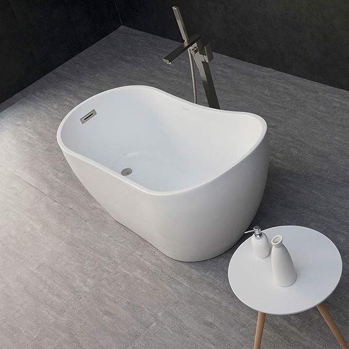 Woodbridge 54 Acrylic Freestanding Bathtub Contemporary Soaking Tub