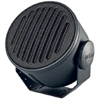 Black Outdoor/Indoor Weatherproof Loudspeaker 8-ohm