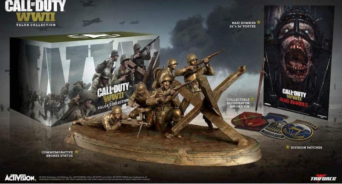 Cokem Call of Duty: WWII Valor Triforce Collection (PlayStation 4 ...