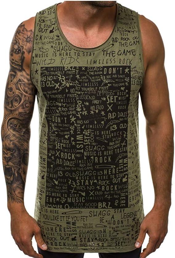 Herren-T-Shirt Sport-Tanktop feuchtigkeitstransportierend /ärmellos