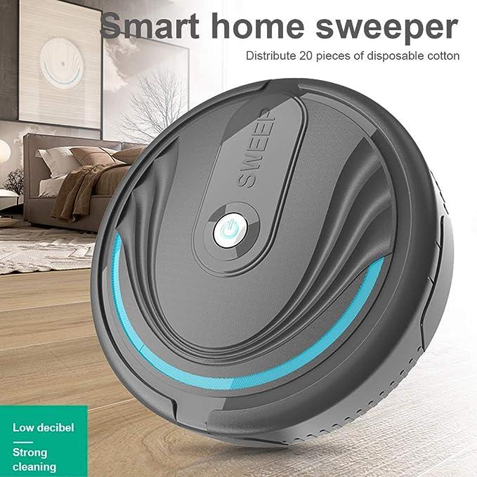 BonTime Aspirador de Robot, electrostática Inteligente de Limpieza ...