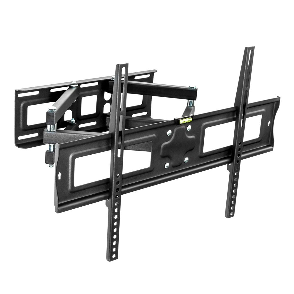 Tectake Support Mural Tv Universel Inclinable Et Pivotant Pour  # Tv Sur Pied Orientable