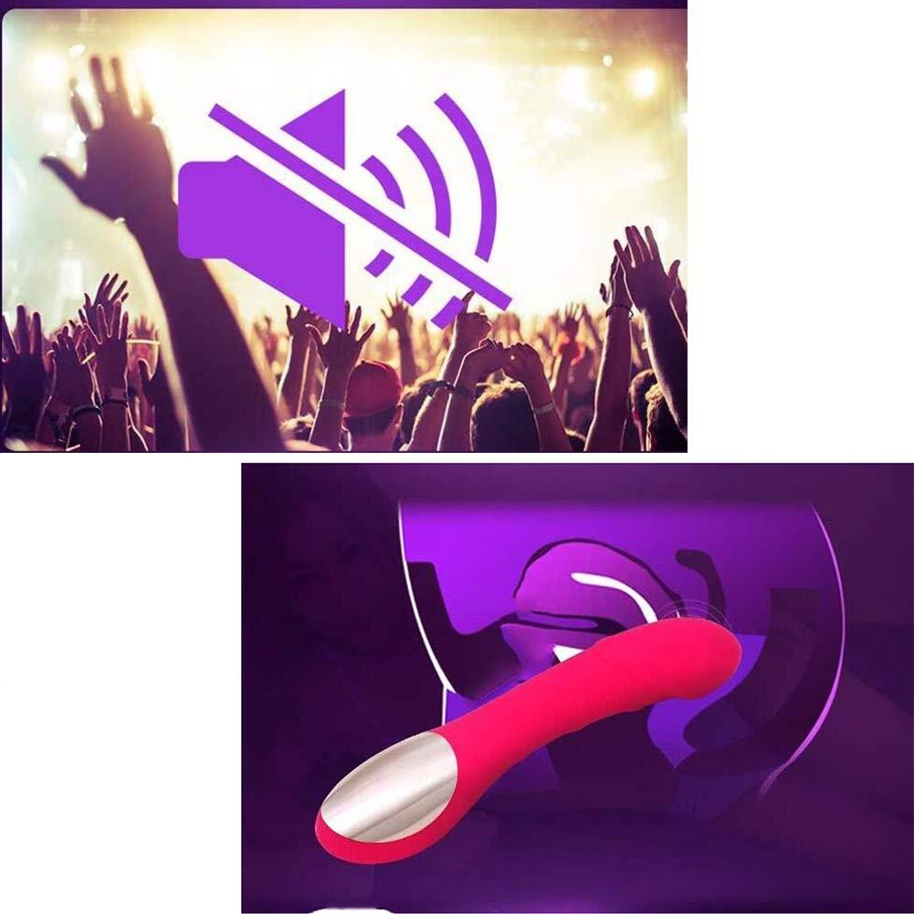 Bseack_Sex shop Batería Vibrante Carga con Carga Vibrante USB 12 Vibraciones para Adultos, Juguetes sexuales para Adultos, Suministros de Salud Sexual (Color : Rosa roja) a6dd9d