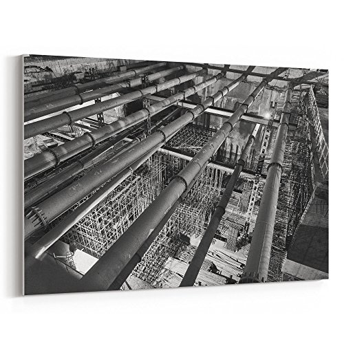 Westlake Art - Construction Black - 24x36 Canvas Print Wall