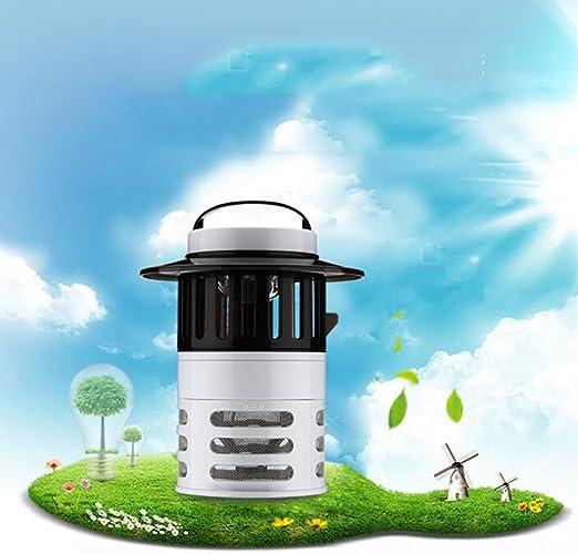 Función De Luz De Jardín Profesional Electrónico, Insecticida De Interiores, UV, Atrae A Los Insectos Voladores, No Tóxicos, Asesino De Insectos, Súper Eficaz Repelente De Mosquitos: Amazon.es: Jardín