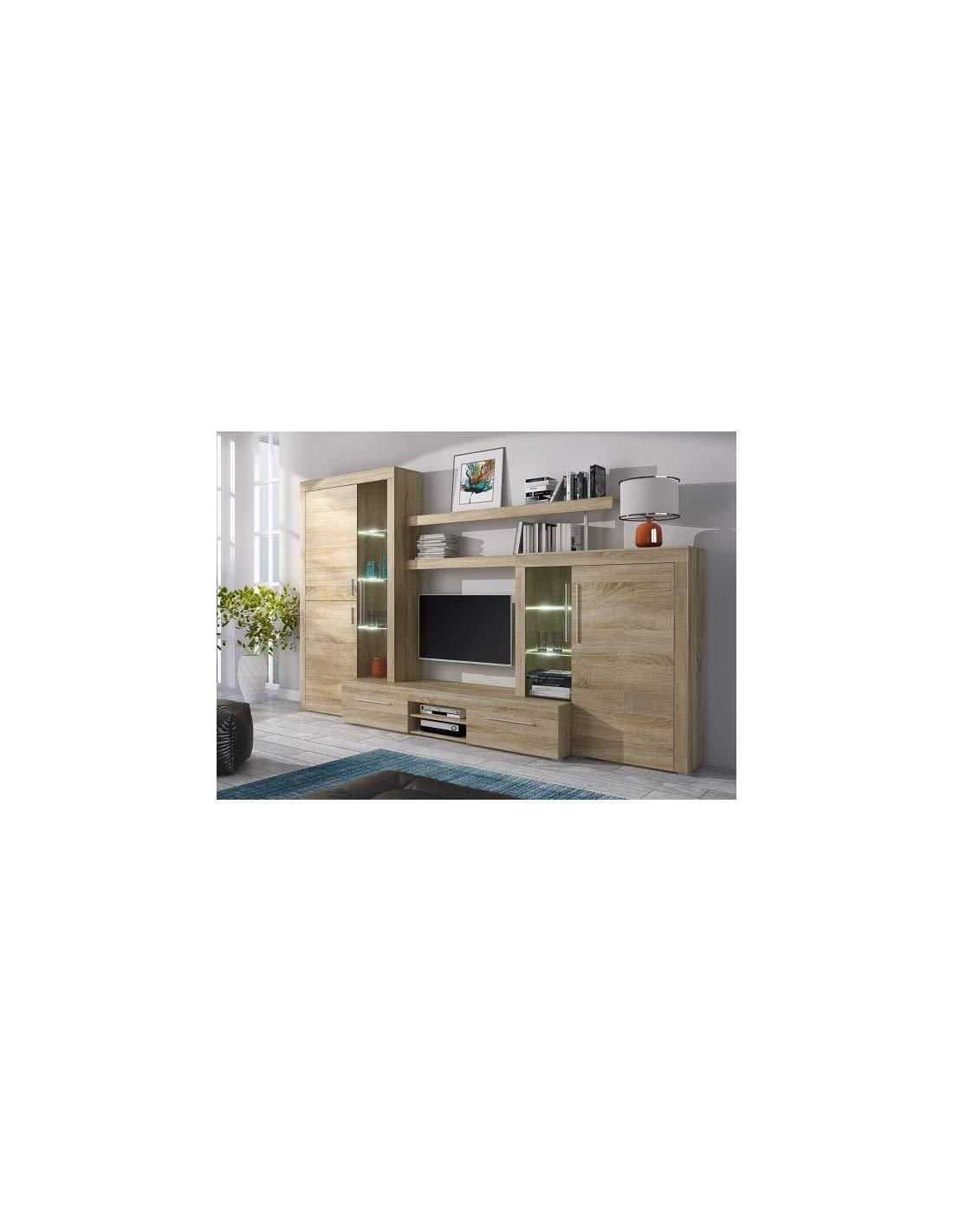 DECORNATUR Mueble de salón Modular Menorca Mueble TV y ...