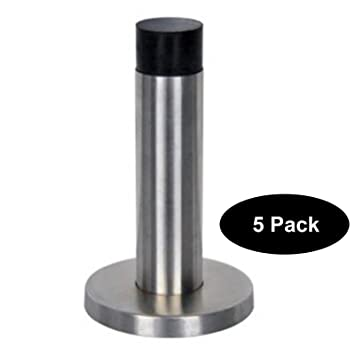 Door stopper security bar Protection Amazoncom Pcs Stainless Steel Rubber Door Stopper Stop Security Bar Wedge Brushed Satin Nickel Projection 85mm325 Beachumbrellahqcom Amazoncom Pcs Stainless Steel Rubber Door Stopper Stop Security