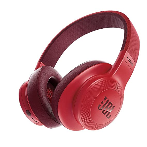 a43d2cc13fd Image Unavailable. Image not available for. Color: JBL E55BT Over-Ear  Wireless Headphones Red