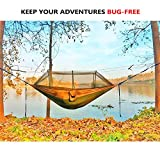 Single & Double Camping Hammock with Mosquito/Bug Net,...