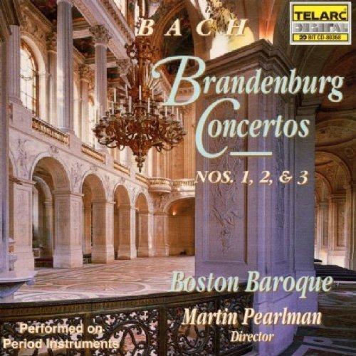 Bach: Brandenburg Concertos Nos. 1, 2 & 3 [1994] Audio CD