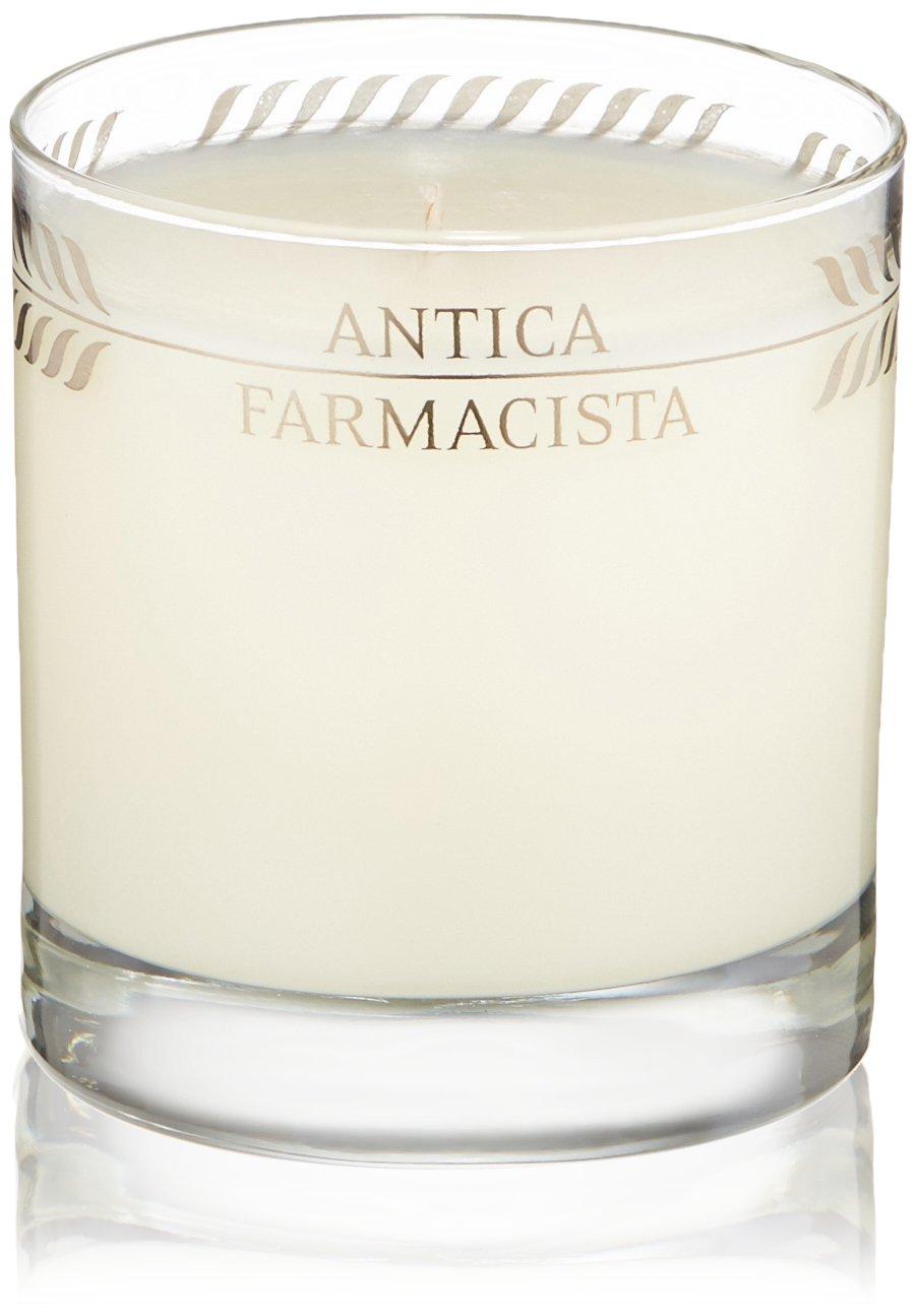 Antica Farmacista Platinum Round Candle, Sandalwood Amber,9.0 oz.
