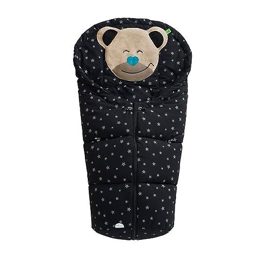 Odenwälder 11435 Fußsack Mucki Sterne Farbe Schwarz Baby