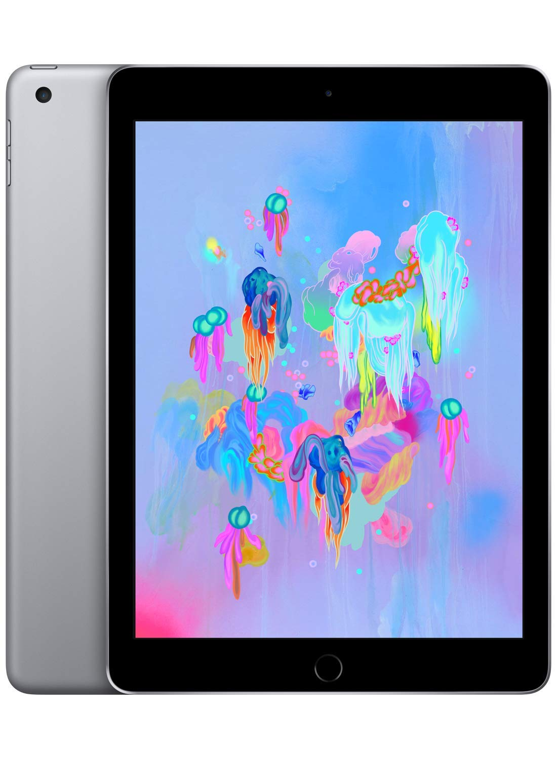 Apple iPad (Wi-Fi, 32GB) - Space Gray (Latest Model) by Apple