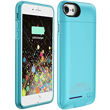 iPhone 7 Plus Funda caso Muze iPhone cargador de batería para iPhone 6 (S) Plus magnético de 4200 mAh recargable carga casos Slim batería externa ...