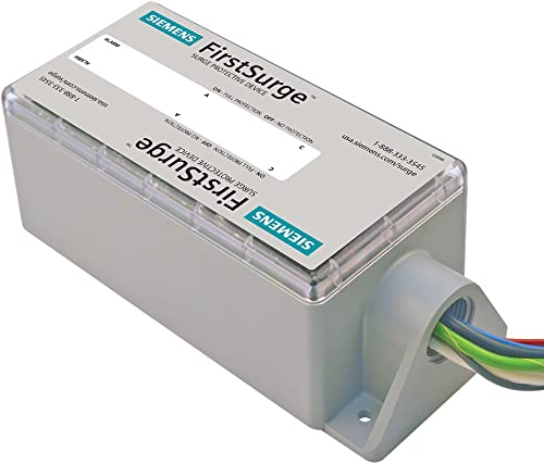 Siemens FS100 Protection Device Whole House Surge Protector, Gray