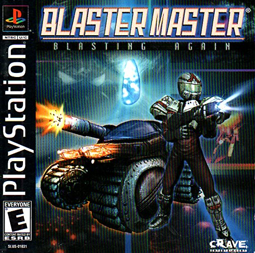 Blaster Master - Blasting Again PS1 Instruction Booklet (Sony Playstation Manual ONLY - NO GAME) Pamphlet - NO GAME INCLUDED -