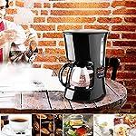 K-EN-caff-Filtro-Macchina-550-Watt-antigoccia-Design-Filtro-Staccabile-e-Piastra-di-Riscaldamento-Isolamento-Automatico-e-la-Funzione-Automatica-Disconnect-600-ml-Nero