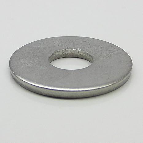 10 pcs de arandelas M12 DIN 9021 VA discos de acero ...