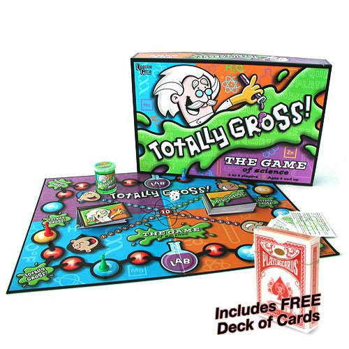 Totally Gross Game: The Game of Science w/Free Deck of Standard Playing Cards