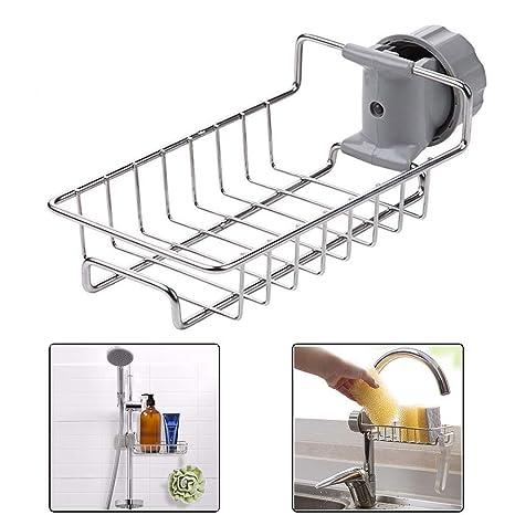 Amazon.com: Organizador para grifo de fregadero, para ...