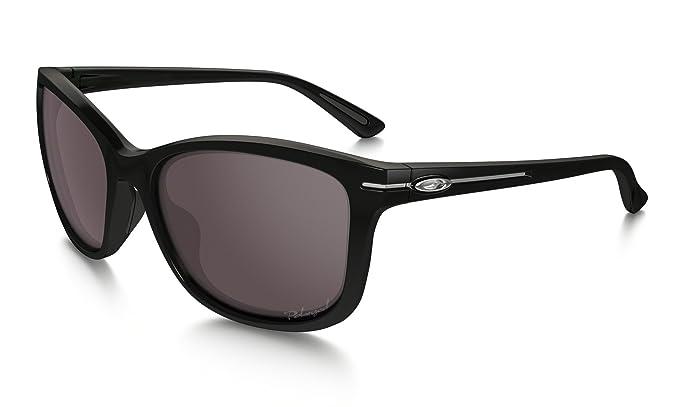 discount real oakley sunglasses w1ym  Oakley Womens Drop In Polarized Sunglasses, Onyx/OO Grey, One Size