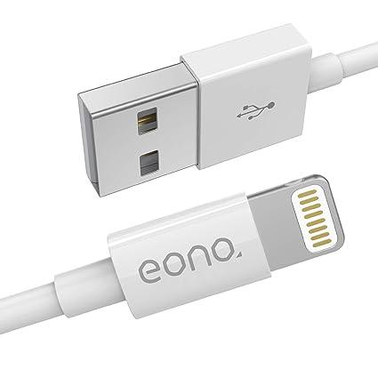 Eono Cable Lightning Cable Cargador de iPhone: Amazon.es ...