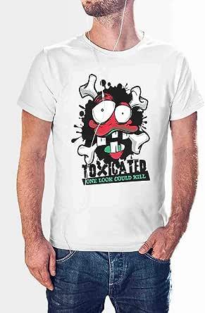 Print Online Round Neck T-Shirt For Men