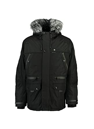 100% authentique 9836d 39cc1 Canadian Peak - Parka Homme Botex Noir-Taille - XL: Amazon ...